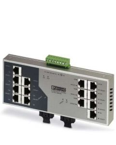 PC SWITCH NO/GEST 14/RJ45 2/FO/DUPLEX/SC-D 283259394 PHOENIX CONTACT