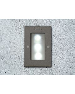 FOCO EXT EMB RECT C/POWERLED BLANCO 1.4W 530695130 DISANO